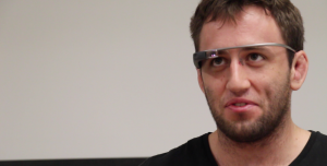Google Glasses for Public Speaking